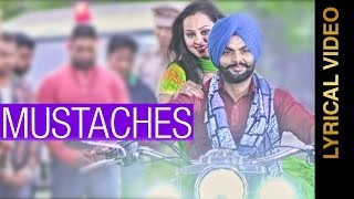 MOUSTACHES  HARRIE PARMAR  LYRICAL VIDEO  New Punjabi Songs 2016