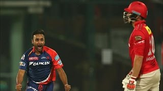 IPL 2016 - Kings XI Punjab vs Delhi Daredevils - Amit Mishra Helps Delhi Restrict Punjab To 111 Runs