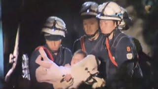 Japan Earthquake - Baby Rescued From Rubble
