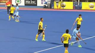 India 6 Malaysia 1. Mens hockey. Sultan Azlan Shah Cup, Ipoh Malaysia 20