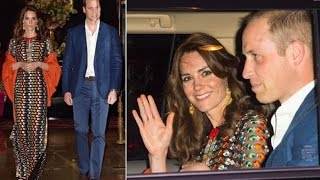 Kate Middleton & Prince William On Dinner Date With The King And Queen Of Bhutan