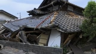 Raw: Death Toll Climbs After 2nd Japan Quake