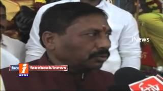 Naini Narsimha Reddy Visits Mahankali Temple For Statuary in Hyderabad - iNews