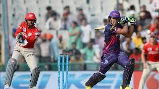 IPL 2016 - Kings XI Punjab vs Rising Pune Supergiants - Faf du Plessis Guides Pune To 152 Runs