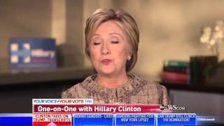 """Stephanopoulos In Disbelief Clinton """"Doesn't Know"""" About Major 9/11 Bill"""