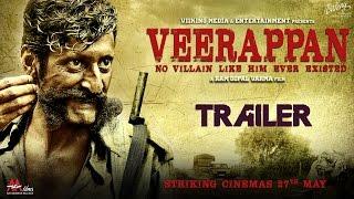 Veerappan Official Trailer - Hindi Movie 2016 - Ram Gopal Varma   Sandeep Bhardwaj, Sachiin J Joshi