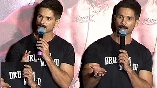 Shahid Kapoor's ARROGANCE To Media - Udta Punjab Trailer Launch