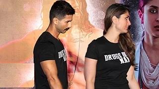 Shahid-Kareena's AWKWARD Moment At 'Udta Punjab' Trailer Launch