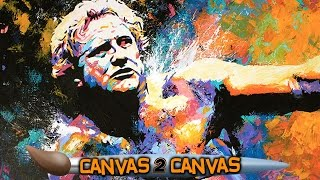 Nick Bockwinkel hits the canvas: WWE Canvas 2 Canvas