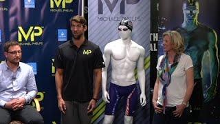 Michael Phelps Shows New Swim Line, Looks to Rio