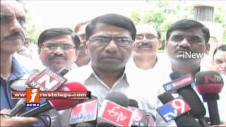 Private Colleges Union Protest Against Vigilance Attacks In Hyderabad - iNews