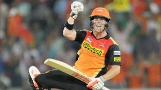 IPL 2016 - Sunrisers Hyderabad vs Mumbai Indians - David Warner Powers SRH To First Win