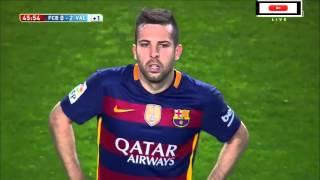 FC Barcelona vs Valencia CF 1-2 17/04/2016