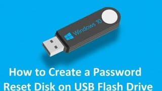 How to create password reset disk - TechMeOut