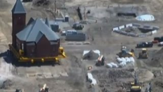 Raw: Historic Mass. Church Moved for Casino