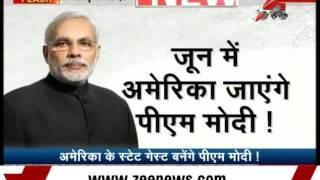 PM Modi's Fourth Visit to USA in June