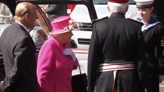 Raw: Britain's Queen Elizabeth Turning 90