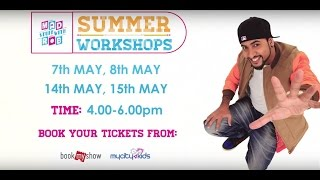 Mad Stuff With Rob Summer Workshops in Mumbai - May 7th, May 8th, May 14th, May 15th