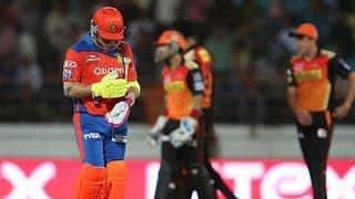 IPL 2016 - Gujarat Lions vs Sunrisers Hyderabad - SRH Restrict Gujarat Lions To 135 Runs