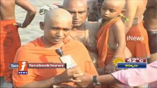 Huge Devotees at Kondagattu Hanuman Temple Occasion Of Hanuman Jayanti - Karimnagar - iNews