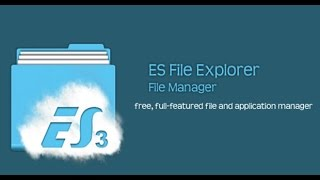 {Hindi} How To Hide Any File   ES File Explorer Manager
