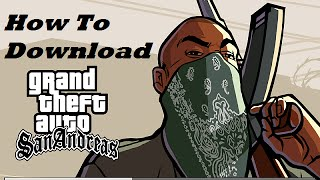 how to download gta san andreas in laptop in hindi