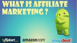 {Hindi} What Is AFFILIATE Marketing And How To Earn From IT