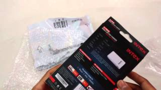 Giveaway Prize - Unboxing Intex 4k Power Bank