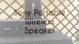 Sony SRS X2 Bluetooth Wireless Speaker Review