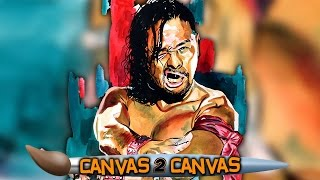 Shinsuke Nakamura reigns on the canvas: WWE Canvas 2 Canvas