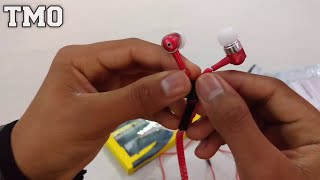 Giveaway Prize - Unboxing Of Zipper Earphone