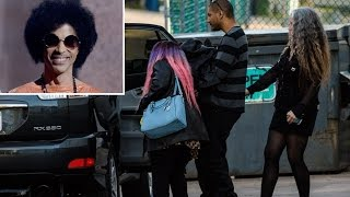 Prince's Ashes Carried By Family - VIDEO