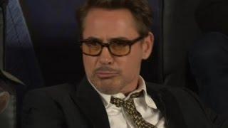 Downey Jr. Gives 'Civil War' Stars Trailer Envy