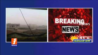 Hail Storm in Karimnagar Dist - iNews