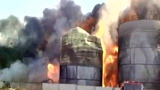 Massive Fire At Biodiesel Factory Near Visakhapatnam, 8 Tanks Still Ablaze