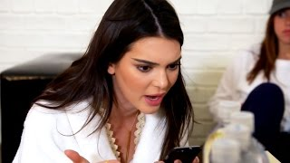 See Kendall Jenner SCREAM at Rob Kardashian Over Blac Chyna!