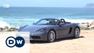 Innovation: the new Porsche 718 Boxster S - Drive it!