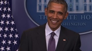 Obama Surprises College Students Visiting WH