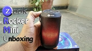 {Hindi} Unboxing OF Zoook Rocker Mini And Review