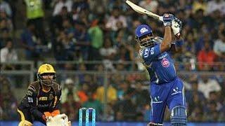 IPL 2016 - Mumbai Indians vs Kolkata Knight Riders - Pollard & Sharma Help MI Beat KKR By 6 Wickets