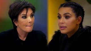 Kris Jenner Mocks Kim Kardashian's 72-Day Marriage, Yells At Khloe In New KUWTK Clip