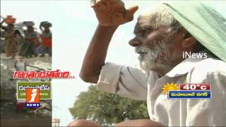 Nagarjuna Sagar hill colony people facing water problem - iNews