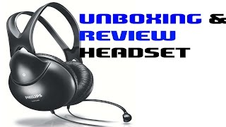 [Hindi] Philips Headset SHM 1900 Unboxing & Review 2016