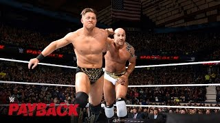 Cesaro vs. The Miz - Intercontinental Title Match: WWE Payback 2016 on WWE Network