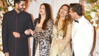 Aishwarya Rai Bachchan At Bipasha Basu And Karan Singh Grover Wedding Reception