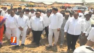 Minister Harikrishna Condemned Road Accident Victims in Medak - iNews