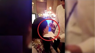 Riteish Deshmukh Feeding Wife Genelia At Bipasha Basu's Marriage