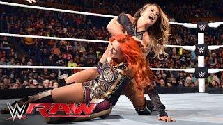 Becky Lynch vs. Emma: Raw, May 2, 2016