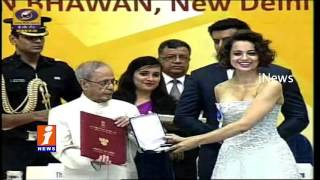 63rd National Film Awards Presentation Ceremony - Amitabh Bachchan - Rajamouli - iNews