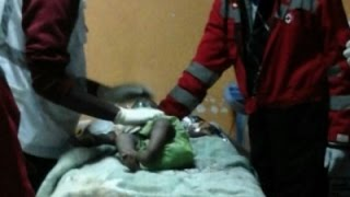 Baby Rescued From Collapsed Building in Kenya